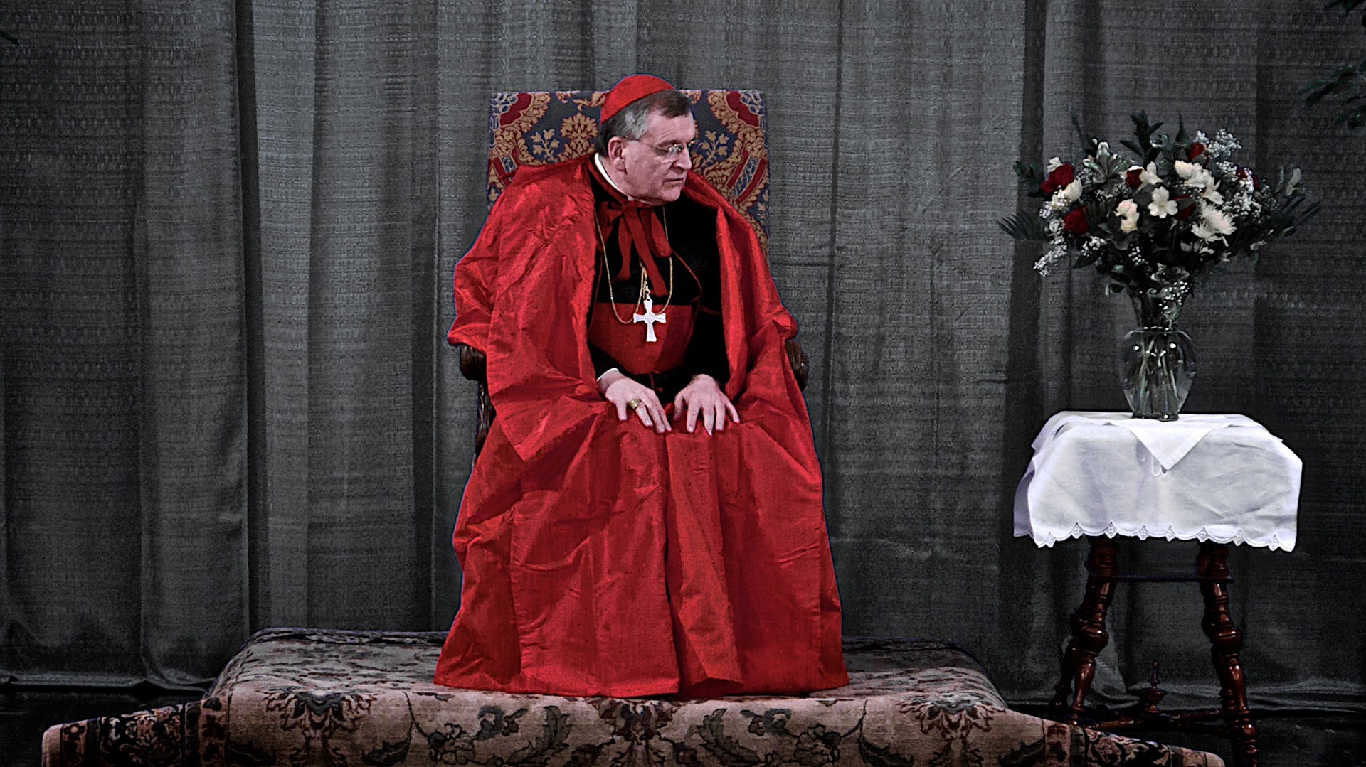Le cardinal américain Raymond Léo Burke (flickr/pbr-photos/CC BY-NC-ND 2.0)